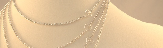 Sugarplum Lane silver chains